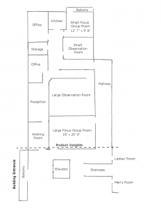 Product Insights Floor Plan